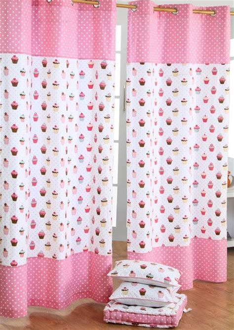 cupcake kitchen curtains cup cakes readymade curtains modern curtains other