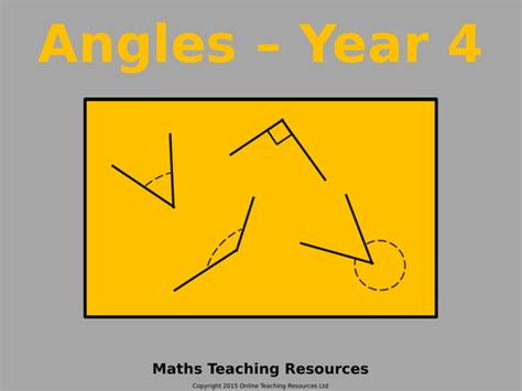 year 3 angles animated powerpoint presentation and