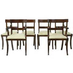 19th century set of eight queen anne influenced dining 19th century set of eight queen anne influenced dining