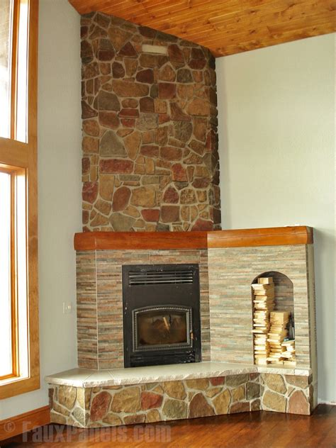 Fireplace Facing Material by Fireplace Surround Creative Faux Panels