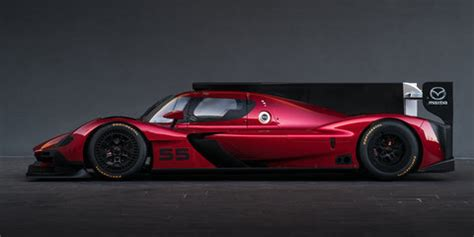 mazda rt24 p le mans racer revealed with 447kw 2.0 litre
