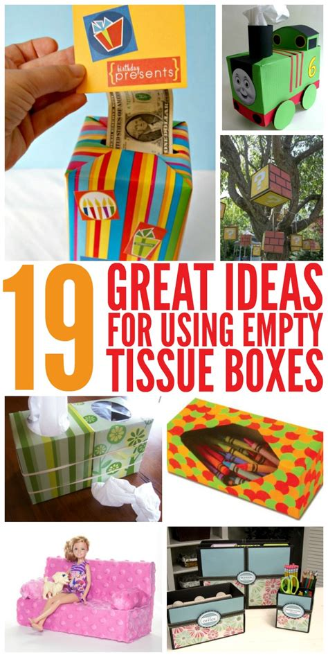 ideas for 19 great ideas for empty tissue boxes