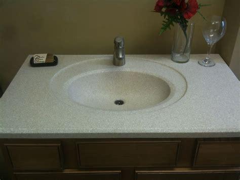 integral bathroom sink and countertop ideas bathroom