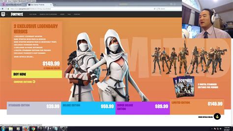 which fortnite to buy lotuscrane explains which edition of fortnite should you