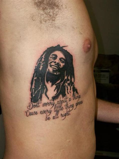 bob marley tattoos designs ideas and meaning tattoos