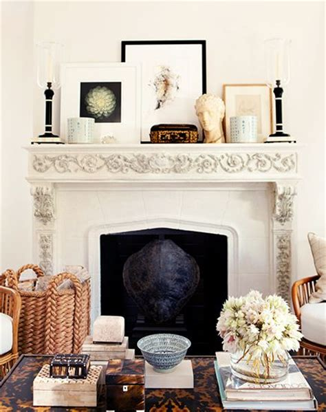 How To Display Without A Fireplace by How To Display Artwork Without Putting Holes In Your Walls