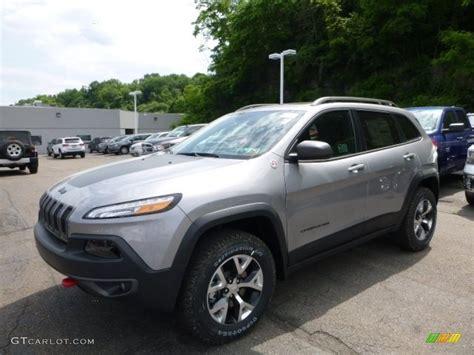 jeep billet silver metallic 2016 billet silver metallic jeep trailhawk 4x4