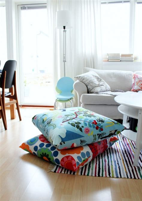 diy floor cushion 57 cool ideas to decorate your place with floor pillows