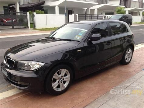 Bmw 1 Series Hatchback Price 2010 by Bmw 118i 2010 2 0 In Selangor Automatic Hatchback Black