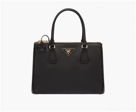 Pra Da Galleria prada galleria saffiano leather bag leather handle
