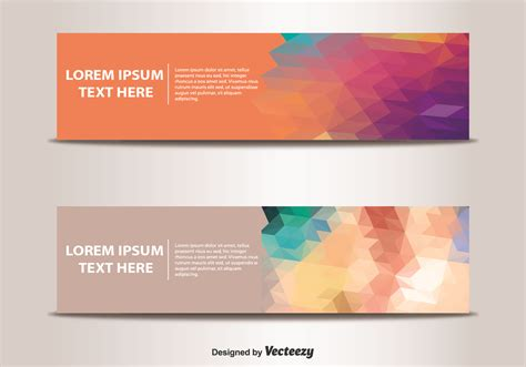templates for web banners abstract banner templates vector free vector download in