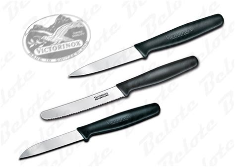Victorinox Kitchen Knives by Victorinox Forschner 3 Piece Kitchen Knife Set 49890 Ebay