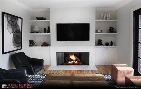 what to do with fireplace modern gas fireplace in toronto