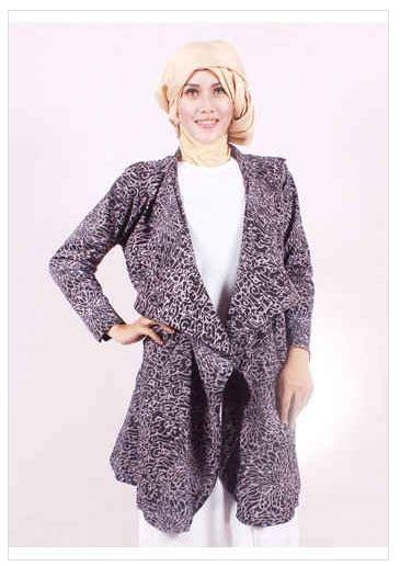 Gamis Wanita Karir contoh foto baju muslim modern terbaru 2016 style fashion