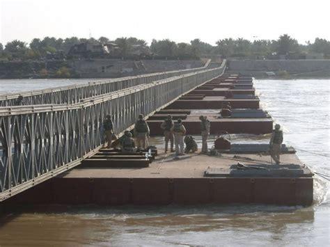 what is a pontoon bridge mabey floating bridge mabey english