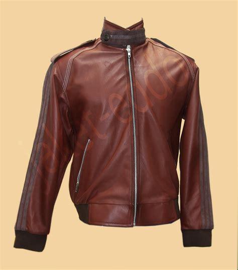 Jaket Kulit Casual Merah kreatif jaket kulit garut