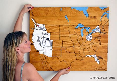 make travel map how to make a personalized travel map lovely greens