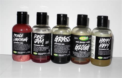 Lush Grass Shower Gel by Lush Shower Gels Jam Prince Charming Happy Hippy