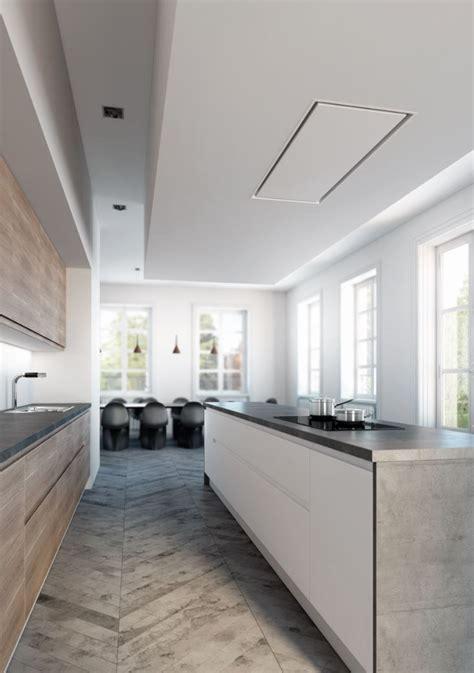 cappa incasso soffitto cappa a soffitto in acciaio inox ad incasso 6839 pure line
