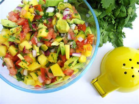 mango avocado salsa raw edibles