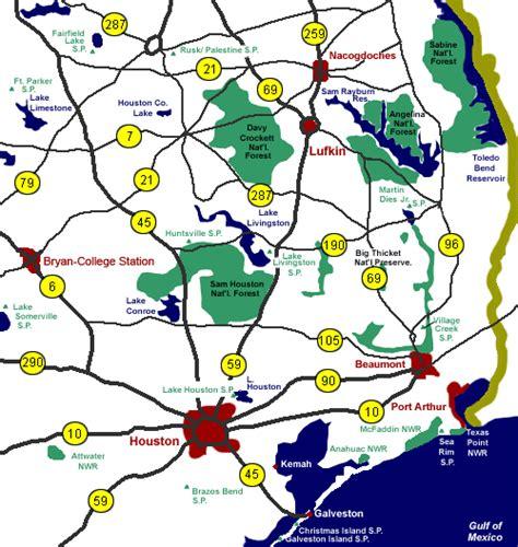 south east texas map map of southeast texas kelloggrealtyinc