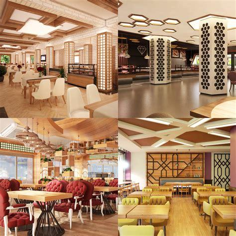 Cafe Set cafe set interior 3d model turbosquid 1228038