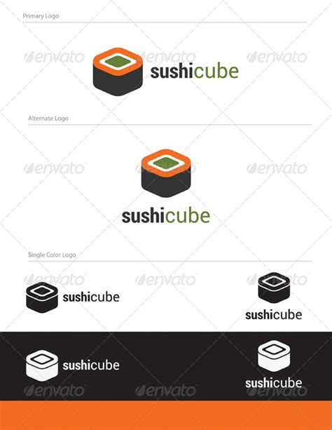 logo design pdf sushy cube logo design abs 015 graphicriver