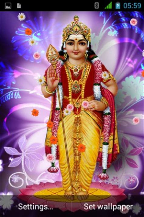 themes god murugan download lord murugan live wallpaper for android by