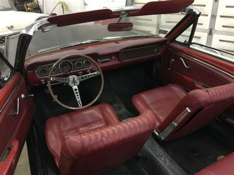 mustang pony interior 1965 ford mustang convertible pony interior no rust for