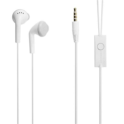 samsung 3 5mm free wired stereo headset ehs61asfwe white earphones oem ebay