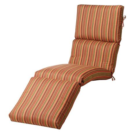 sunbrella chaise lounge cushion home decorators collection sunbrella dorsett cherry