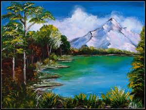 acrylic painting nature paintings canvas tales by ankita ghosh