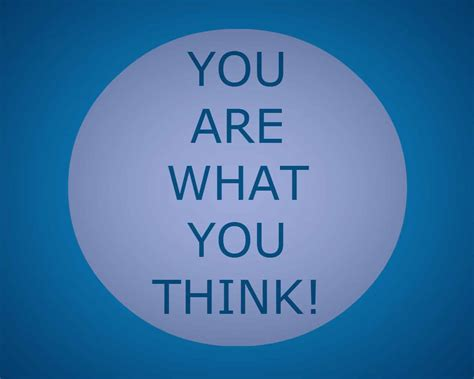 You Are What You Think being in the realm of harmony amrit academy