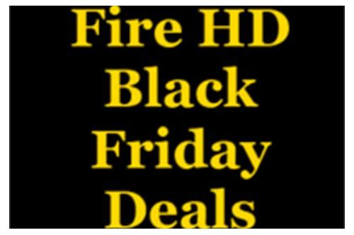 deals on kindle fire hd black friday