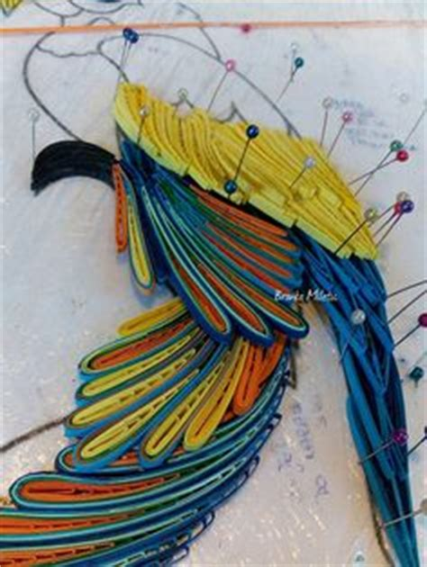 procedure quilling parrot branka mileti all about procedure quilling parrot branka miletić all about