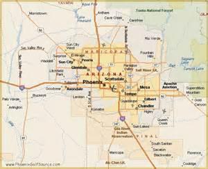Maps Phoenix by Arizona Phoenix Map