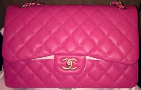 Channel Pink chanel pink bag reference guide spotted fashion