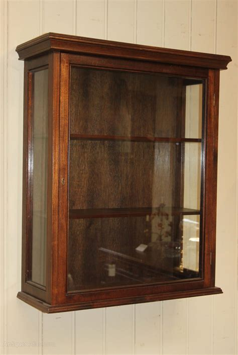 Vintage Wall Cabinet by Antiques Atlas Vintage Mahogany Wall Display Cabinet