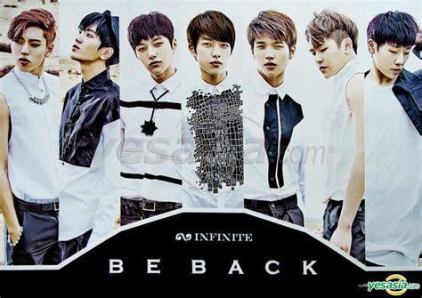 Infinite 2nd Album Repackage Be Back Limited yesasia infinite vol 2 repackage be back 1 random poster in cd infinite loen