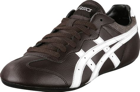 asics flat shoes onitsuka tiger whizzer lo shoes drk brown white