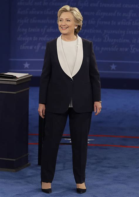 hillary clinton full biography hillary clinton s outfit at second debate what she wore