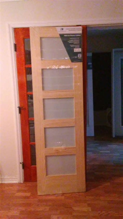 Letgo Frosted 5 Glass Interior Wo In West Hollywood Fl 24x80 Interior Door