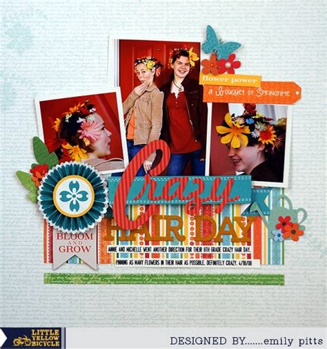 scrapbook layout cycling 21 best images about scrapbook layouts little yellow