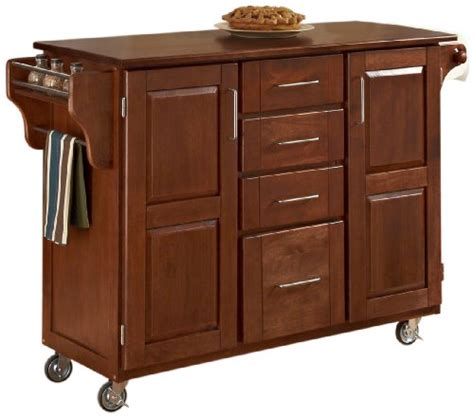 home styles create a cart warm oak kitchen cart with home styles 9100 1067g create a cart warm oak finish with