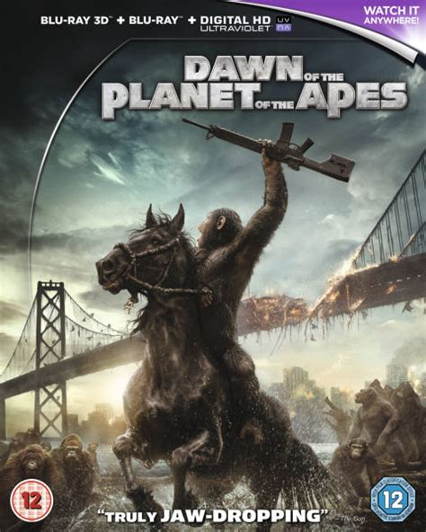 3d The Apes Of The Planet Of The Apes 3d Includes Ultraviolet