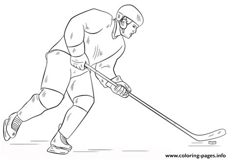 hockey coloring pages pdf hockey player nhl hockey sport coloring pages printable
