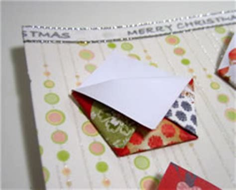 Origami Advent Calendar - origami advent calendar pattern