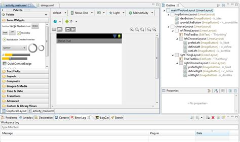 layout design android eclipse eclipse can no longer render my android xml layout