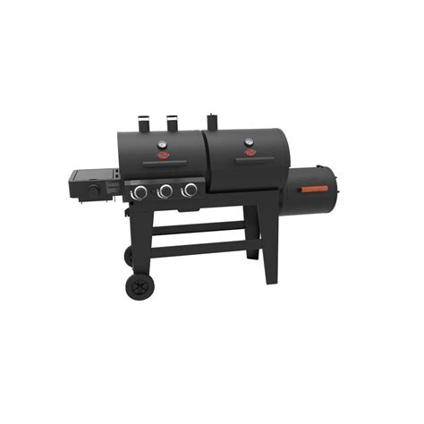 Char Char Grill by Char Griller Play 3 Burner Gas Charcoal Grill And