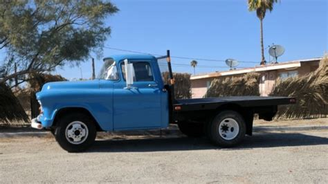 flat bed for sale 1955 chevy 3 4 ton flatbed for sale chevrolet other